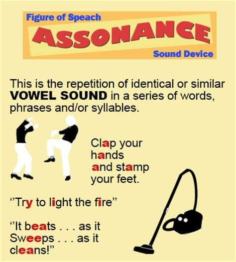 exle of assonance assonance definition what is