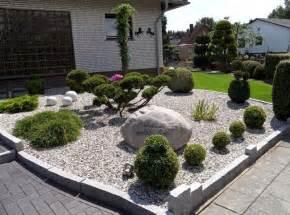 Vorgartengestaltung Mit Steinen Und Grasern Vorgarten Gestalten Steine Beste Garten Ideen