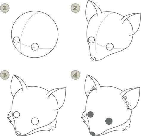 draw nose illustrator how to create a hand drawn fox illustration in adobe