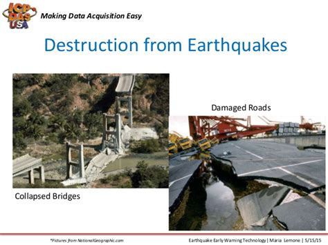 earthquake early warning system earthquake early warning technology