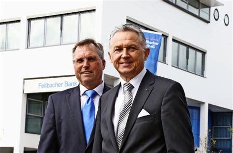 fellbacher bank banking fusion der fellbacher bank einziger partner f 252 r fusion