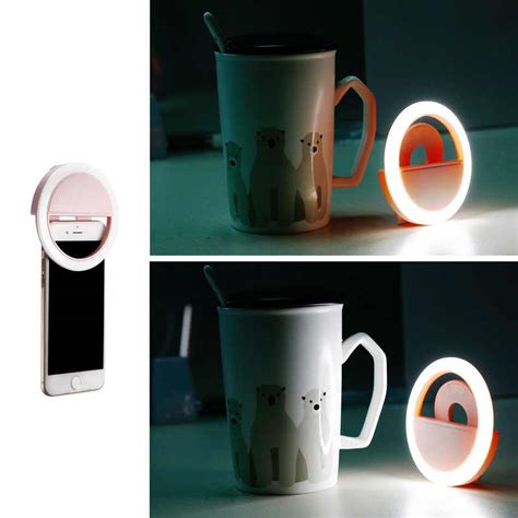 Selfie Ring Light Charge מוצר beautify skin led selfie ring light with usb charge