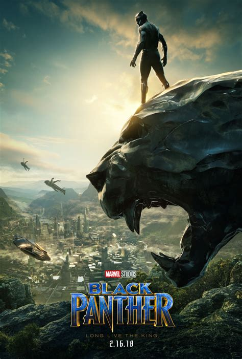 film marvel black panther comic con 2017 new poster for marvel s black panther