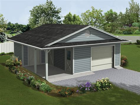 Garage Plans With Porch Jaceycrest Garage With Porch Plan 107d 6004 House Plans