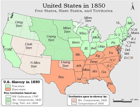 map of the united states in 1850 conner david history maps