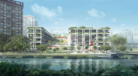 oase terrassen oasis terraces punggol neighbourhood centre and