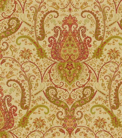 home decor print fabric waverly byzance antique jo