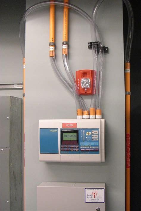 airsense 10 side panel kiddie airsense asd panel running pipes into the panel