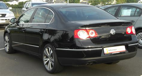 volkswagen passat rear file vw passat rear jpg wikimedia commons