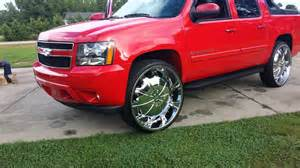 chevy avalanche on 30 quot rims