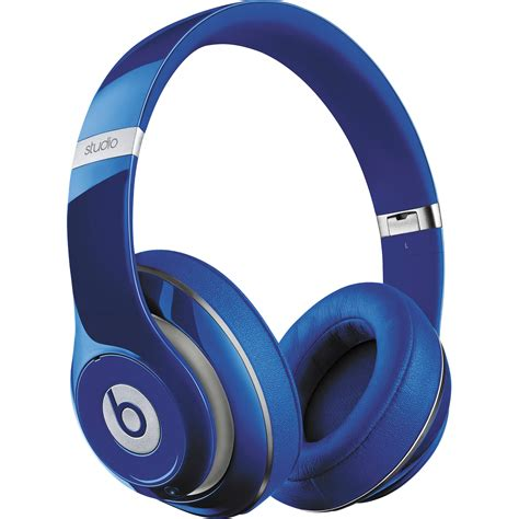 Headphone Beat Studio beats by dr dre studio wireless headphones blue mha92am a b h
