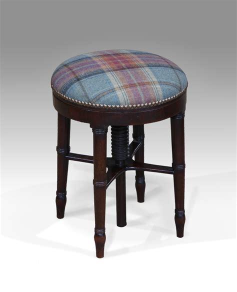 antique stool piano stool adjustable stool antique