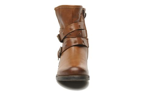 Boot Heels Pita mustang shoes pita ankle boots in brown at sarenza co uk 148070