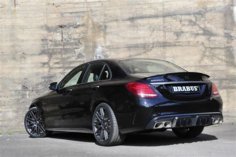 brabus gives mercedes amg c63 s 600ps and 800nm for