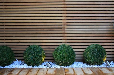 Modern Garden Fencing Ideas Contemporary Garden Design In Garden Club
