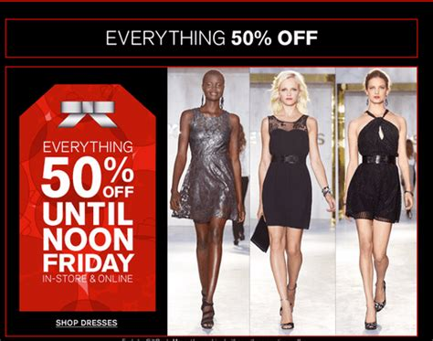express clothing black friday sales start today