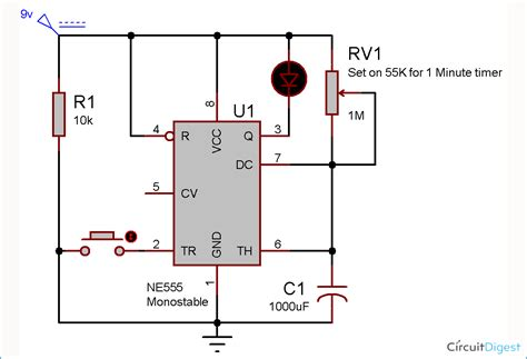 circuit diagram using 555 timer wiring diagram with