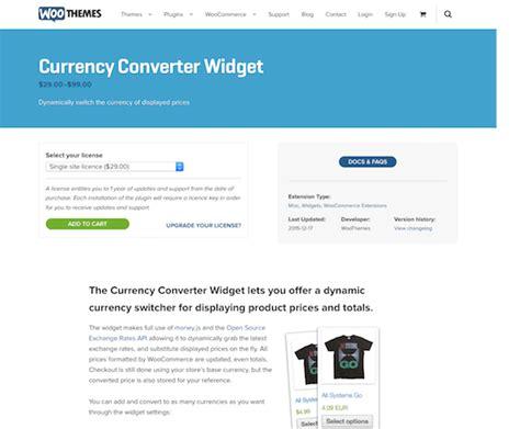 currency converter extension extensi 243 n para woocommerce currency converter widget mvkoen
