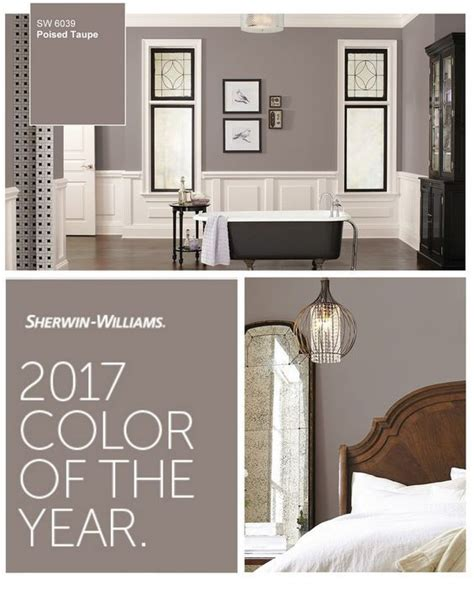 sherwin williams bedroom colors 2017 sherwin williams color of the year poised taupe