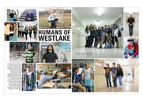 yearbook academic section ideas westlake high school 2014 student life yearbook discoveries