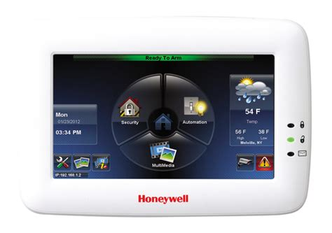 honeywell tuxedo touch wifi talking color graphic