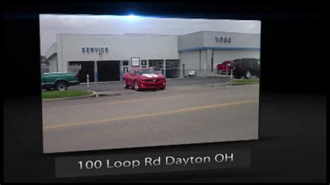 voss chevrolet centerville ohio voss chevy service the process