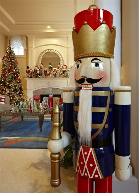 nutcrackers galore and more at this home for the holidays