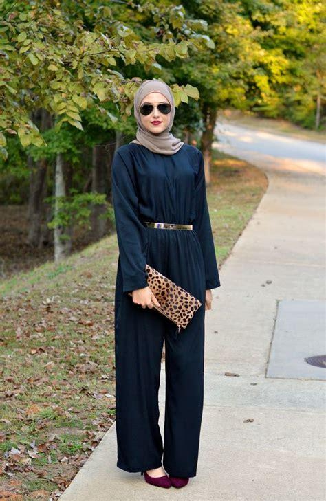 winter hijab street styles  leena asaad street hijab