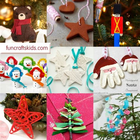 diy christmas ornaments fun crafts kids