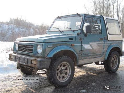 1988 Suzuki Samurai Specs 1988 Suzuki Samurai Sj 413 Car Photo And Specs
