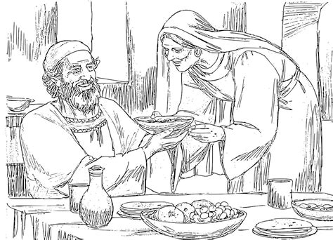 coloring pages john the baptist birth the birth of john the baptist foretold coloring pages
