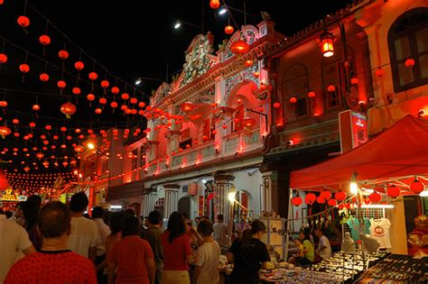 new year in malacca jonker attractions