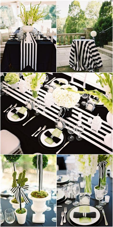 my black and white striped wedding bloggers best