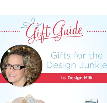 design junkie meaning gifts for the design junkie by design milk the goods