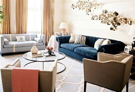 modern chic living room interior design by gilbane