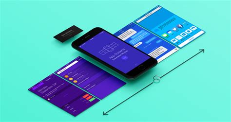 Perspective App Screens Mock Up 8   Psd Mock Up Templates