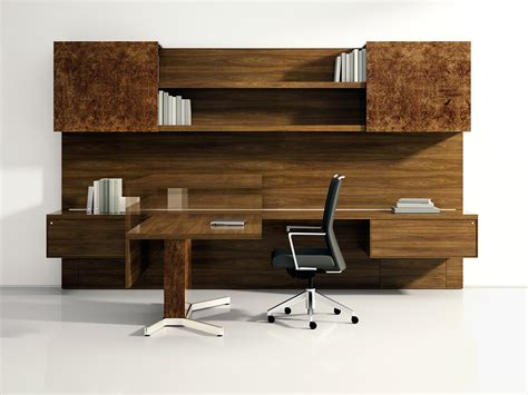 Executive Modern Wood Sit Stand Desk Ambience Dor 233