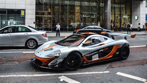 P1 Gtr by Mclaren P1 Gtr Revs And On The Road In