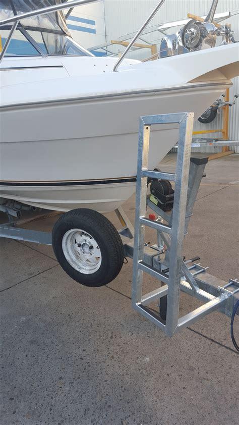 boat trailer roller ladder boat trailer ladder 187 sales trailers sydney