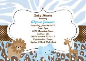 free printable baby shower invitations safari www proteckmachinery