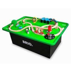 brio wooden railway system table play table kinderspell