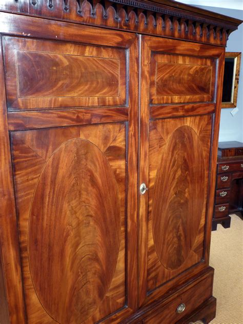 Antique Mahogany Wardrobes by Antique Mahogany Wardrobe Georgian Wardobe C19 Wardrobe
