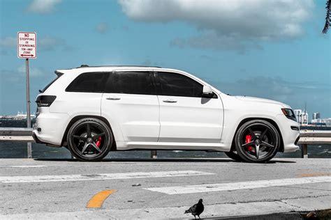 2017 white jeep black rims 22 quot velgen classic5 black concave wheels rims fits jeep