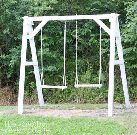make a swing seat make this simple wooden swing seat