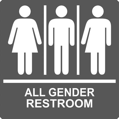 gender bathroom signs gender neutral restrooms at wsu vancouver student