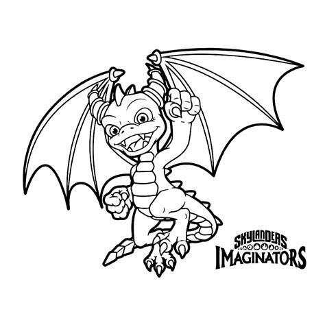 skylanders imaginators coloring sheets