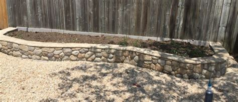 How To Build A Rock Garden Bed Raised Garden Bed Using St Concrete Overlay Mix