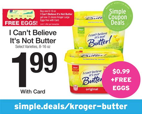 i cant believe its not butter light syns free eggs 0 99 i can t believe it s not butter kroger
