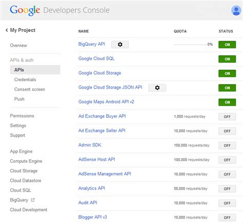map api console utilisation de l api maps services 2 0 android dev fr