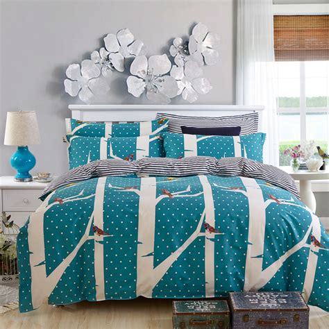 polka dot comforter sets 2015 polka dot comforter bedding sets bird bed cover blue